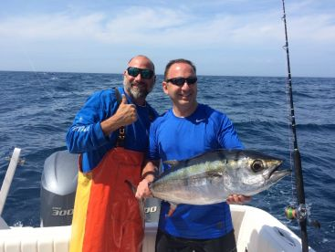 Giant blackfins tuna, normal for us!