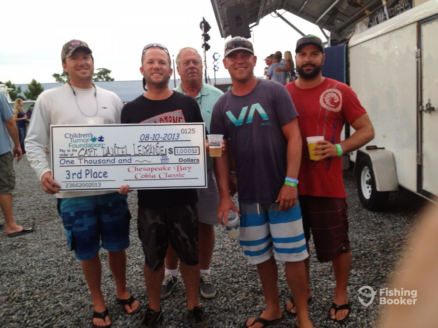 3rd Place Ches. Bay Cobia Classic