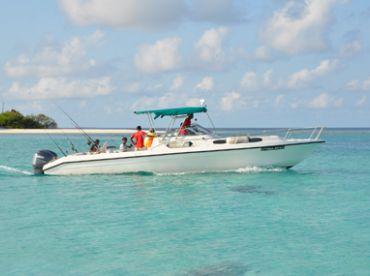 Mahuey Boat Charters Maldives -33ft