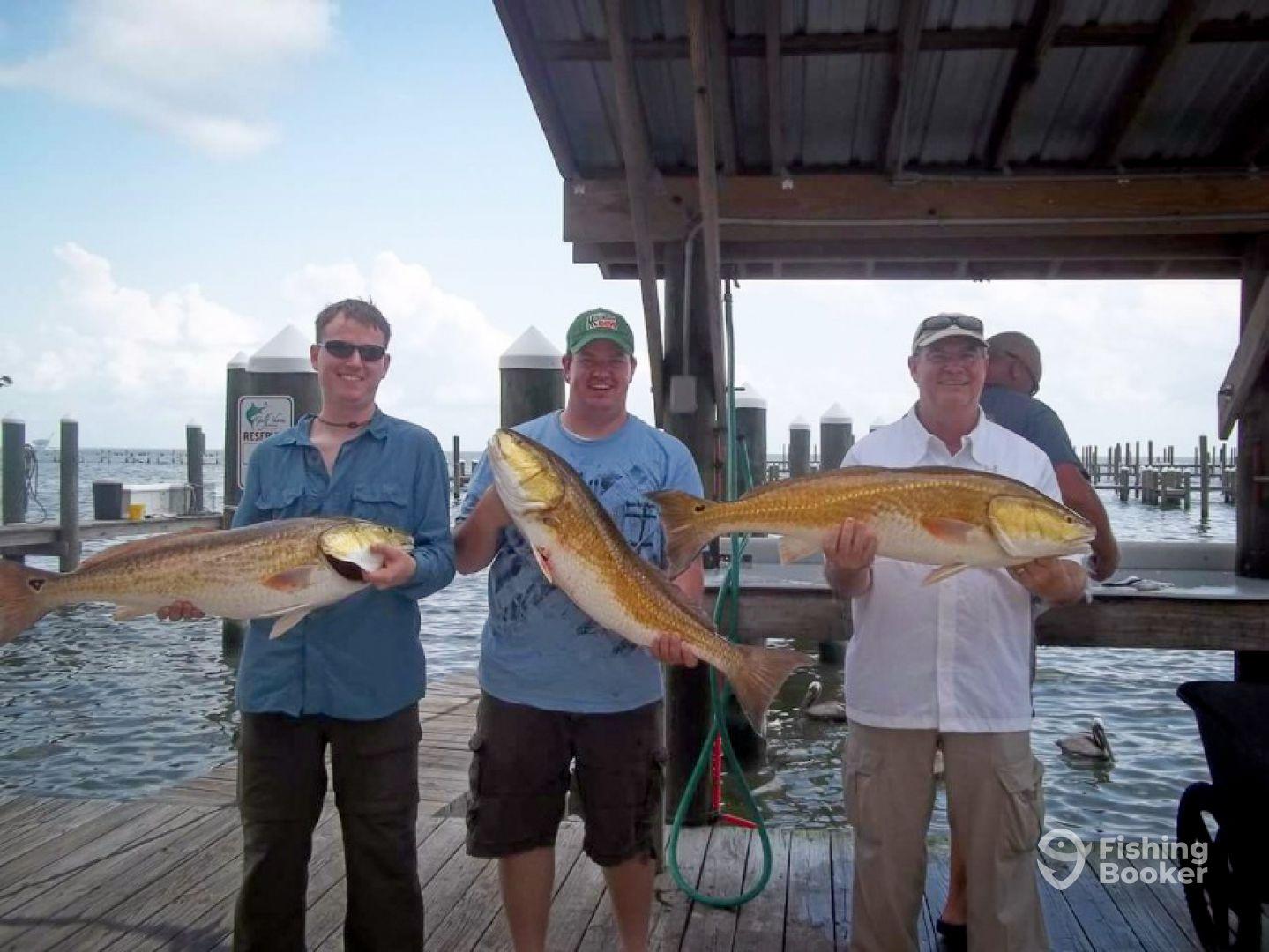 Gulf adventures fishing gulf shores al fishingbooker for Gulf shores alabama fishing
