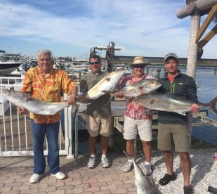 A nice charter-- they wanted to go for AJ's and after about 10 they wanted to get some smaller fish