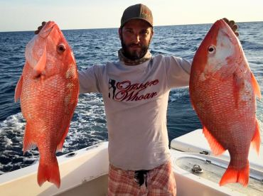 Ryan with some nice snappers