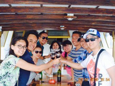 Singapore fishing holiday group