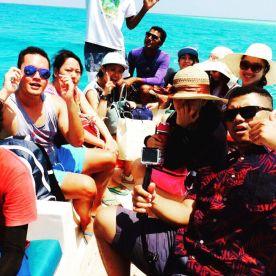 Malaysian Fishing Holiday group