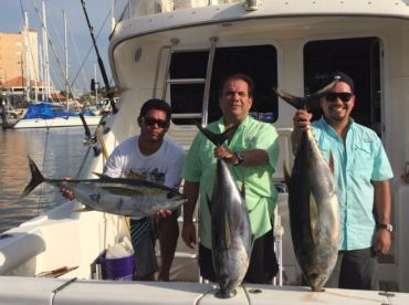 yellow fin tuna on one of our 24 hour charters