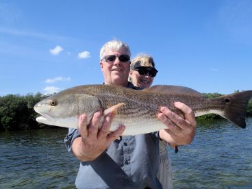 Nice keeper redfish