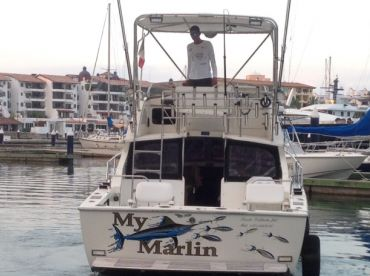 The My Marlin fishing Charter boat