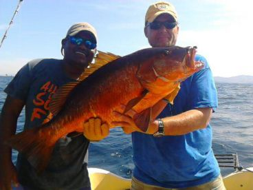 Captain Walter with a good Snapper