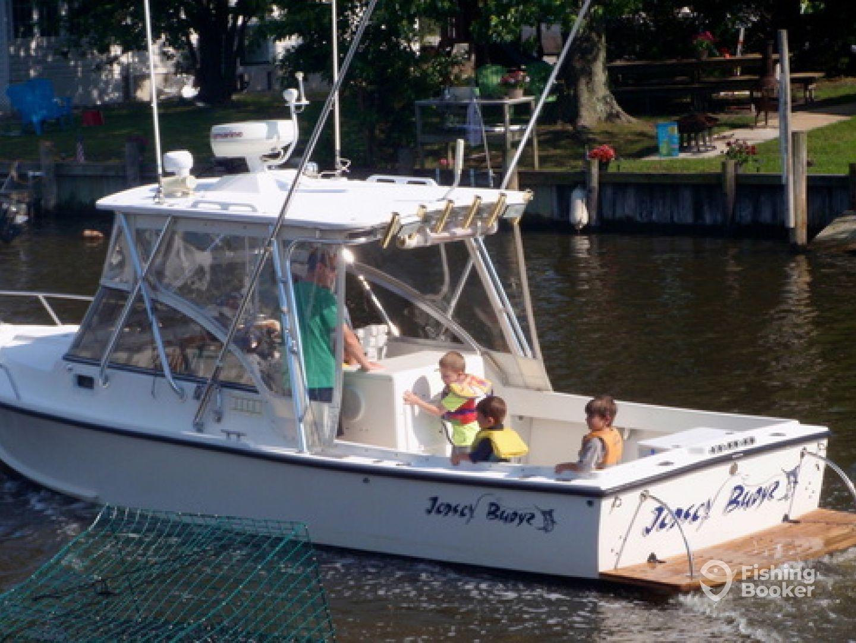 Jerzey Buoyz Sport Fishing