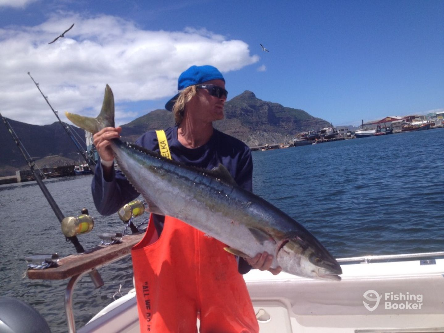 I just found Cape Town Fishing Charters on FishingBooker