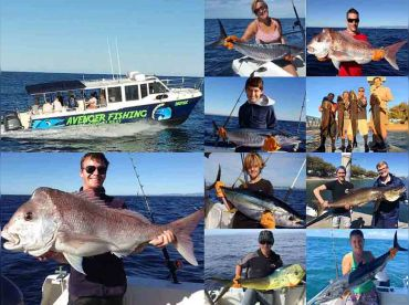 Avenger Gold Coast Fishing Charters, Main Beach