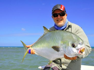 Permit, a prize capture on fly, wherever they are caught.