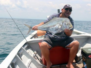 Diamond Trevally, catch them with Jigging