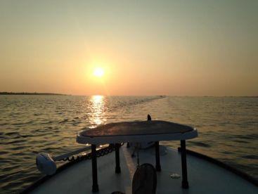 Morning Ride across Pensacola Bay.