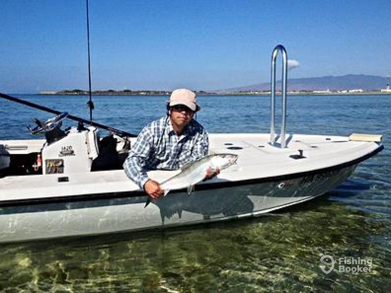 Hi tide fly fishing honolulu hi fishingbooker for Tide for fishing
