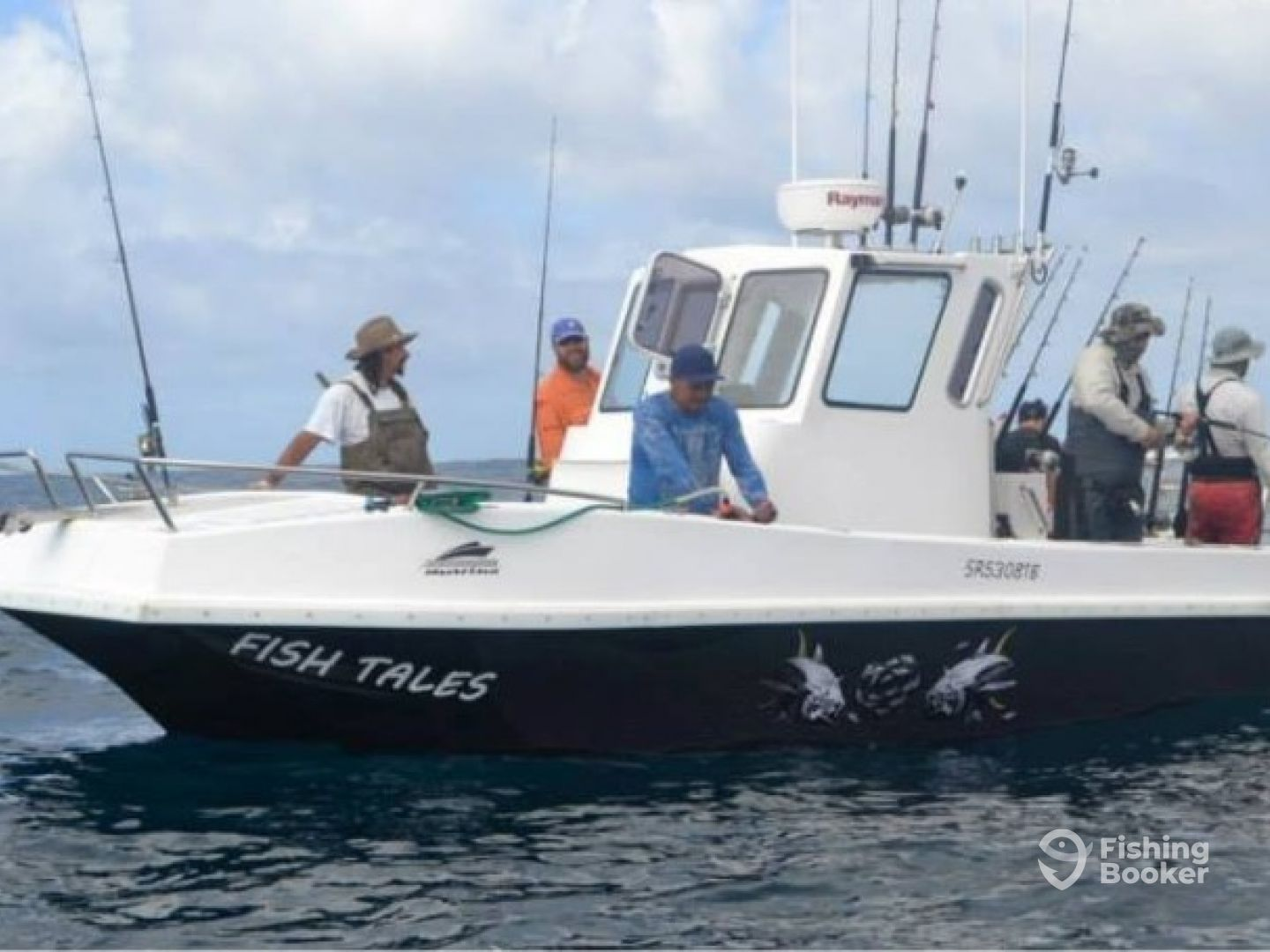 Fish tales fishing charters struisbaai south africa for Fish tales charters
