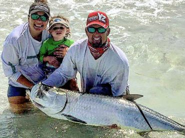 Tarpon fishing by far is a bucket fish that ever angler should experience while fishing in Clearwater, Fl