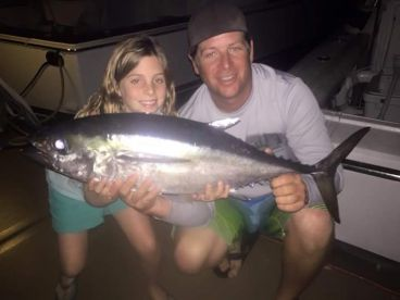 15lb blackfin tuna caught by this little girl.
