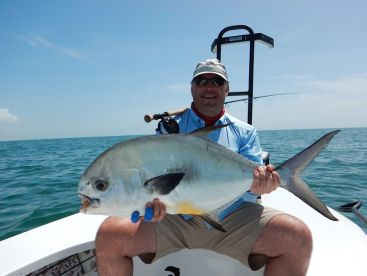 Biscayne Bay Permit on Fly