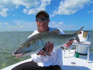 11 pound Bone Fish in Biscayne Bay