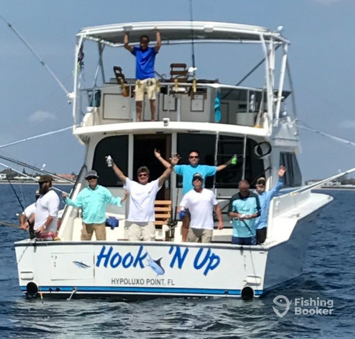 Hook'N Up Luxury Sportfishing