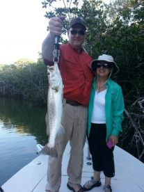 Trout in Everglades National Park