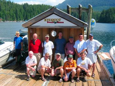 Kyuquot Beach House Deep Sea Trips