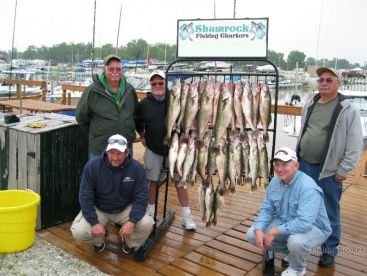 Shamrock Fishing Charters, Curtice