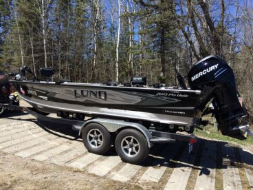 New Lund boat every year!