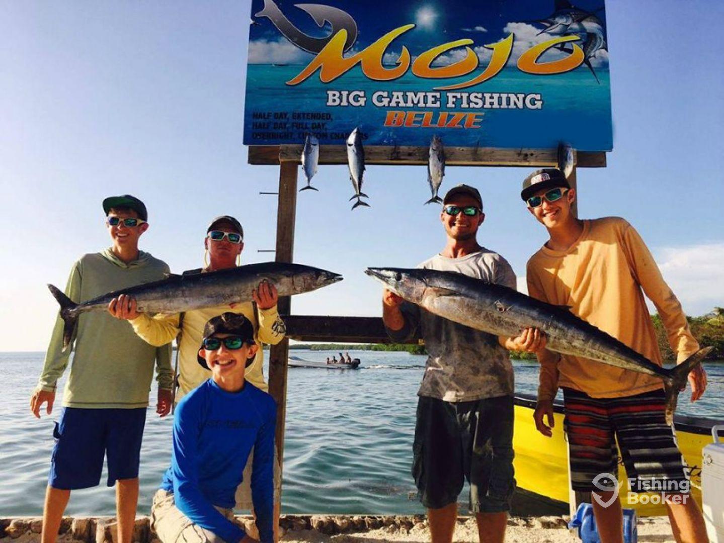 Mojo sport fishing belize city belize city belize for Belize fishing charters