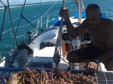 Spearfishing Jamaica Sailing Adventures.
