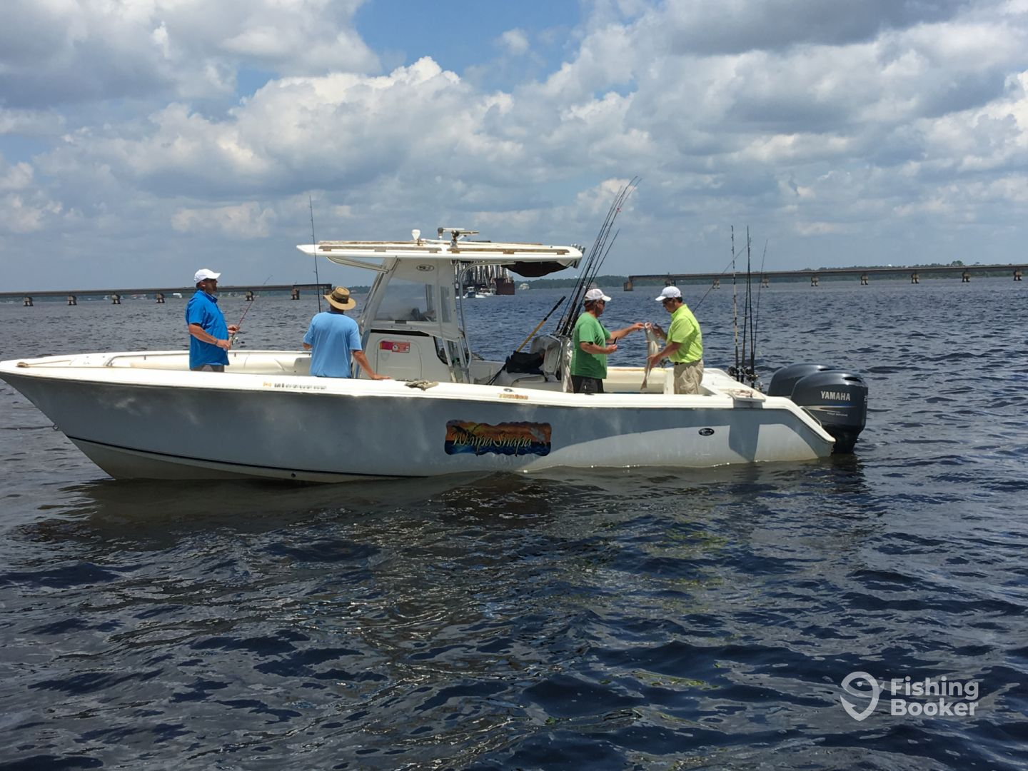 Whipasnapa charters biloxi ms d 39 iberville ms for Fishing in biloxi ms
