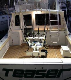 Cockpit: seating / fishing chair / seadeck floor