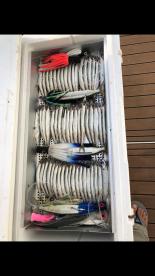 Bait cooler 125qt yeti with 2 bait trays