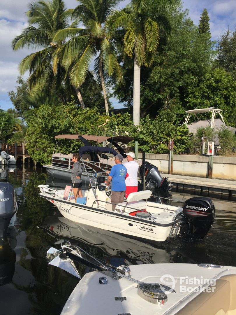 I just found Pocket Cruiser Charters on FishingBooker
