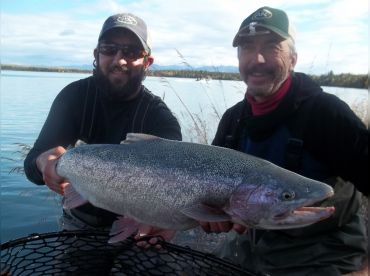 Kenai River Trophy Rainbow Trout