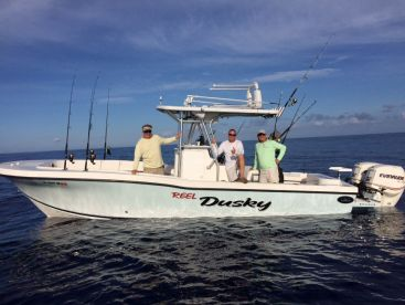 Our 28ft fishing machine