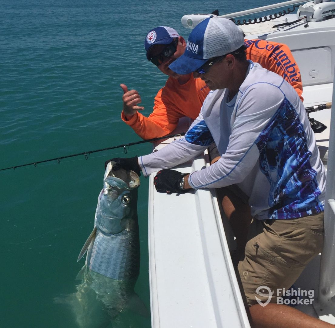Fischer charters fort myers fort myers fl fishingbooker for Half day fishing trips fort myers