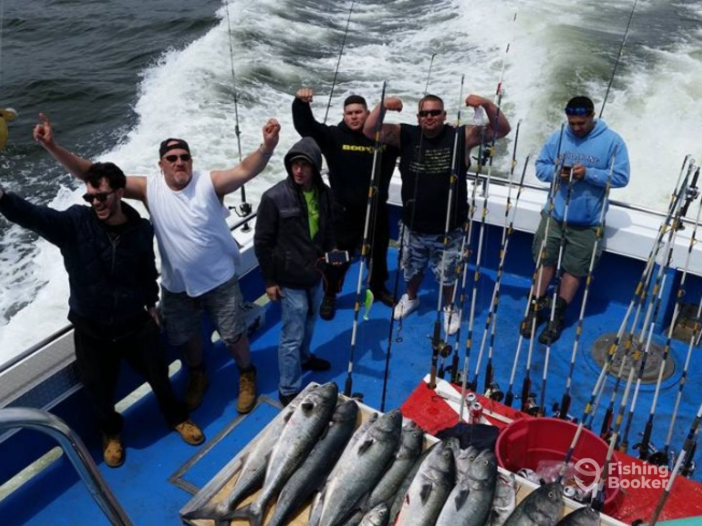 Ol salty ii sports fishing belmar nj fishingbooker for Belmar nj fishing
