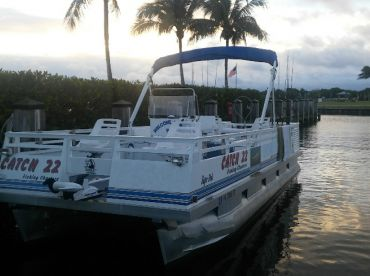 Fishing up to 6 people powered by 200 hp Yamaha 4 stroke and Minnkota I Pilot.