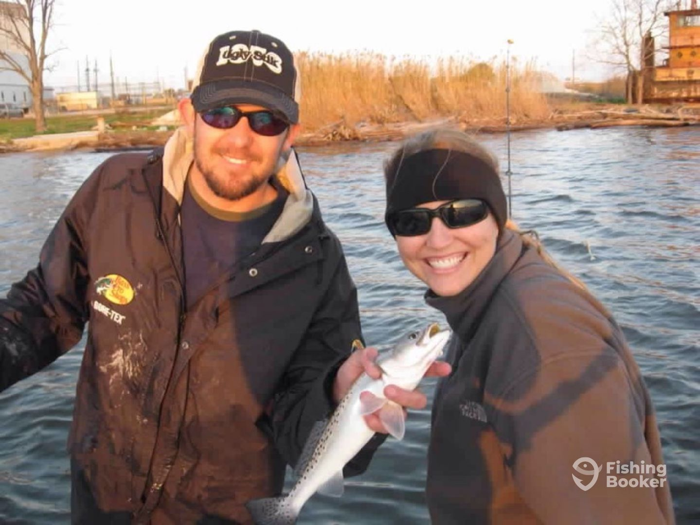 Catch and release speckled trout fishing