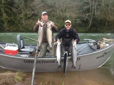 Goins Outdoor Adventures Drift Boat, McMinnville