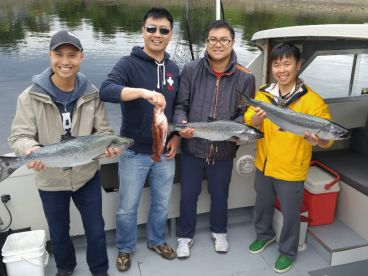 A great day with a great group of anglers.  Good times with Reel Time Fishing Charters, Nanaimo BC