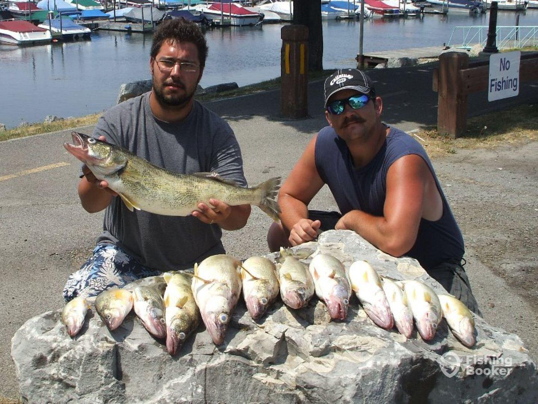 Schultz sportfishing charter buffalo ny fishingbooker for Fishing charters buffalo ny