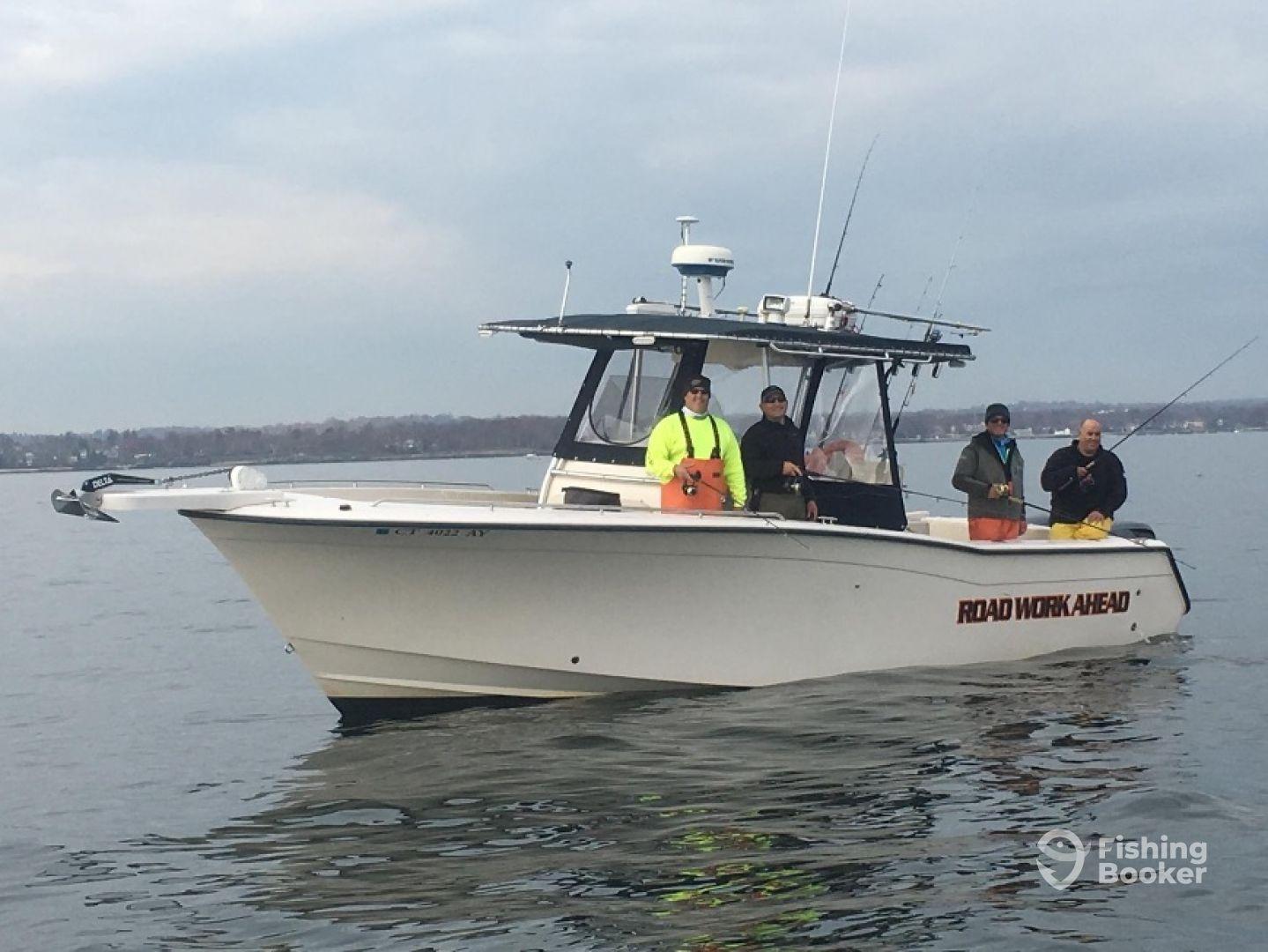 Road Work Ahead Fishing Charters Stamford Ct Fishingbooker