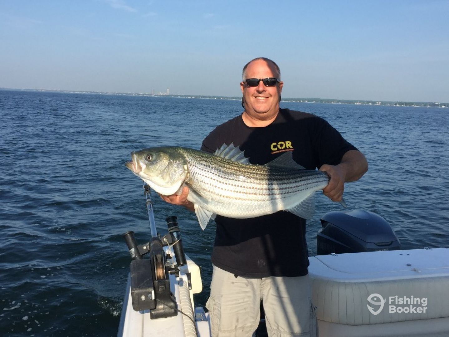 Road work ahead fishing charters stamford ct fishingbooker for Fishing trips in ct