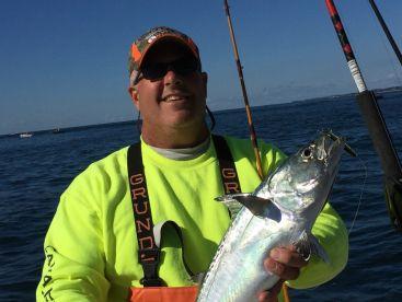 False Albacore caught in Watch Hill Rhode Island