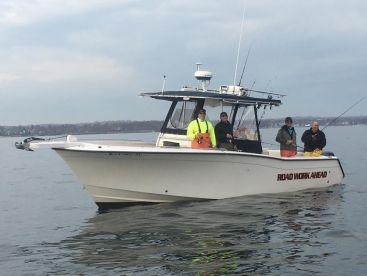 Grady White Bimini 306. Great fishing platform.