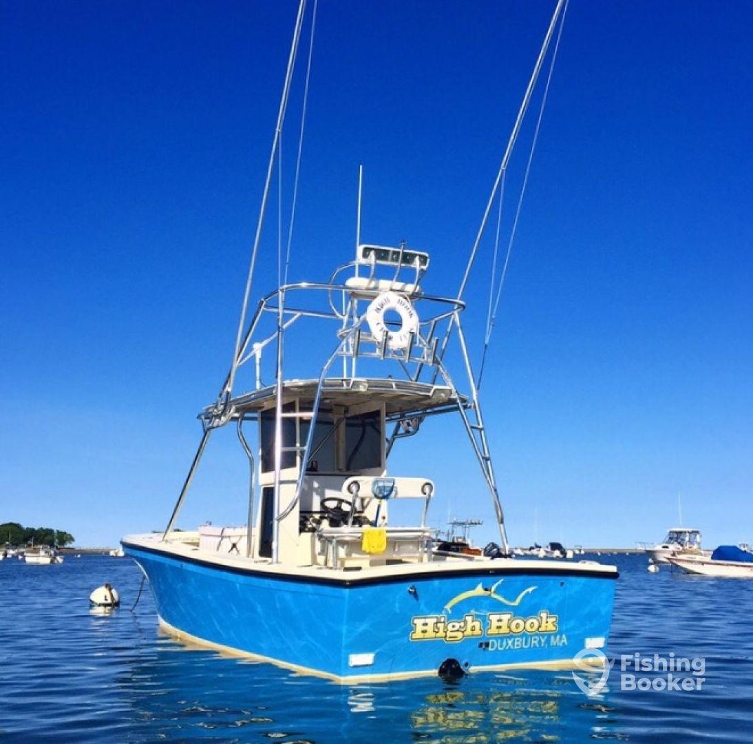 High hook charter fishing duxbury ma fishingbooker for Fishing charters plymouth ma