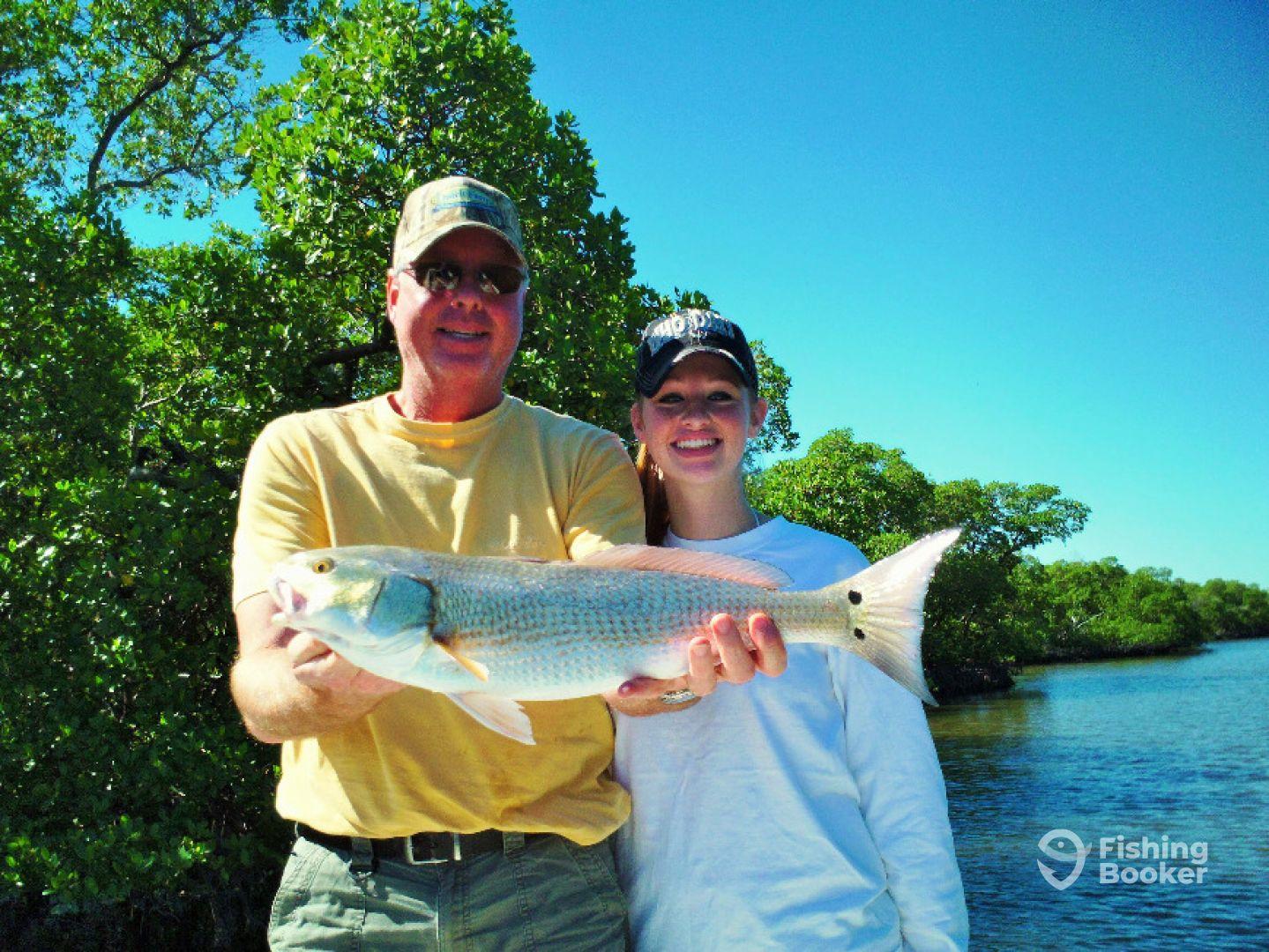 Kassie with nice Redfish